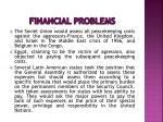 financial problems7