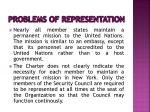 problems of representation1
