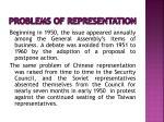 problems of representation6
