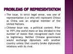 problems of representation7