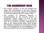 the membership issue1