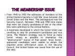 the membership issue2