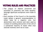 voting rules and practices2