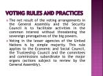 voting rules and practices5