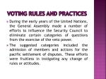 voting rules and practices7