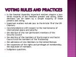 voting rules and practices9