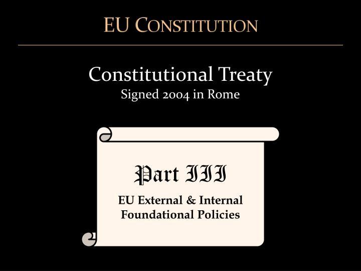 EU Constitution