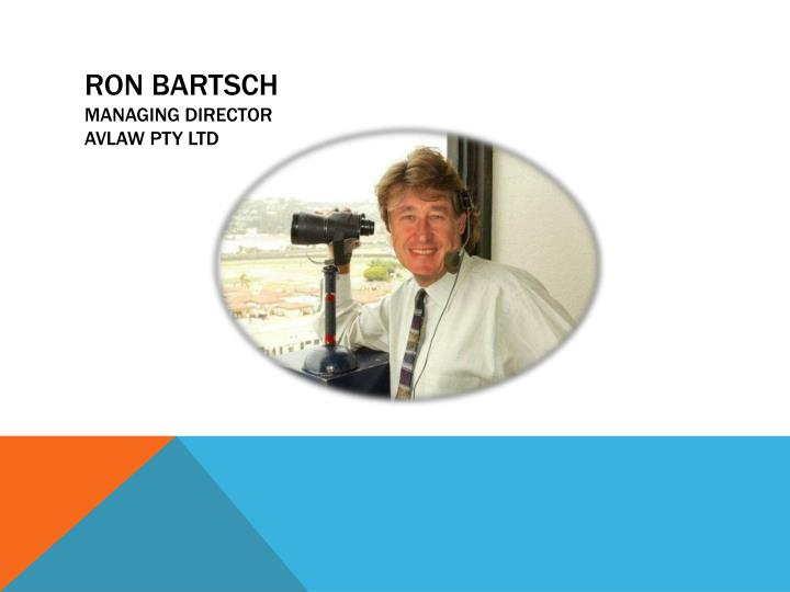 Ron bartsch managing director avlaw pty ltd