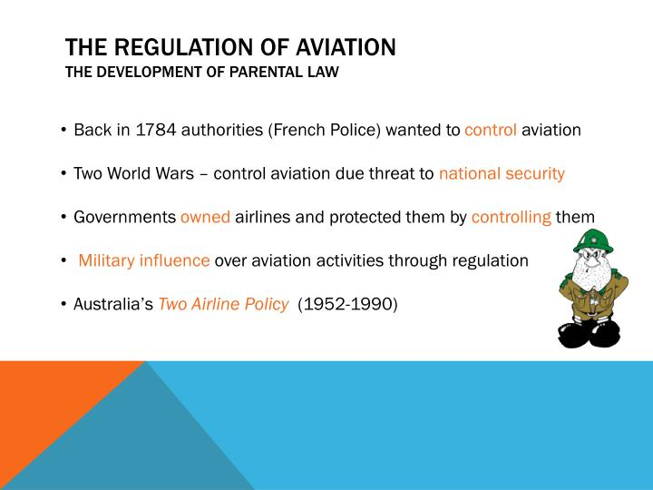 The regulation of aviation