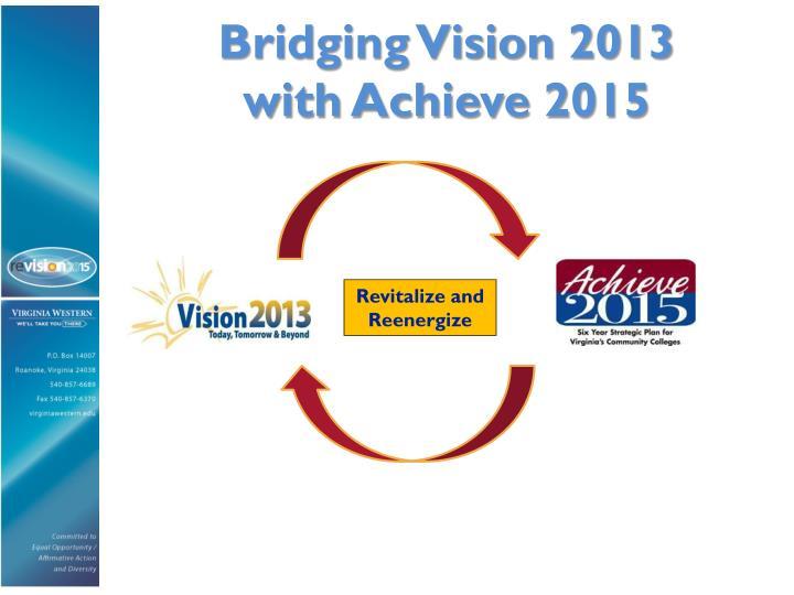 Bridging Vision 2013