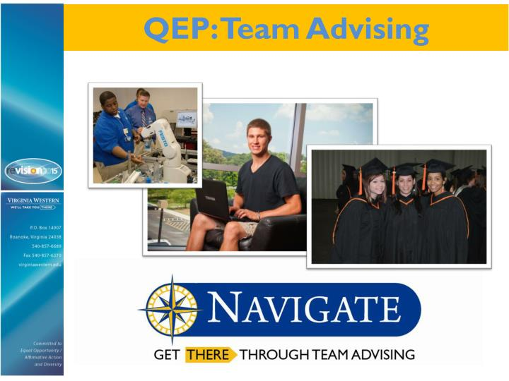 QEP: Team Advising