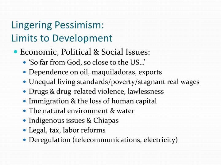 Lingering Pessimism: