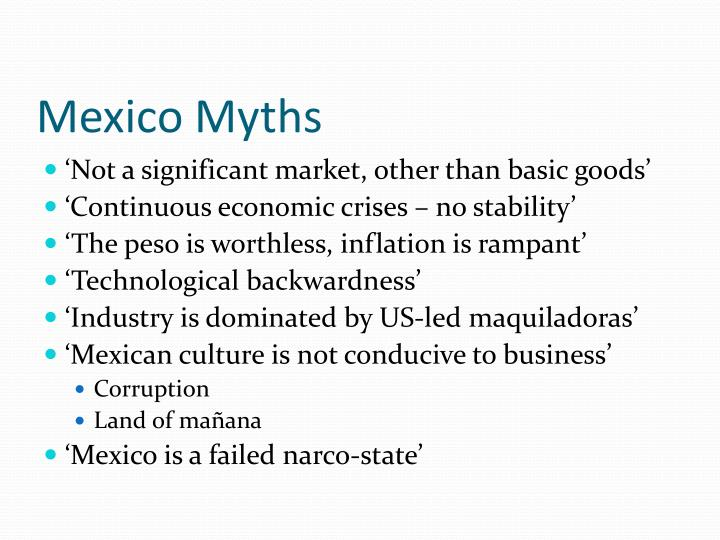 Mexico myths
