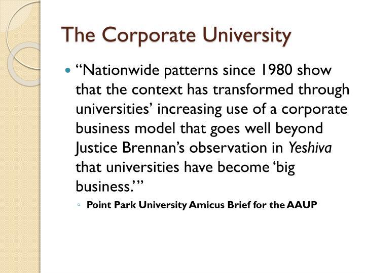 The Corporate University