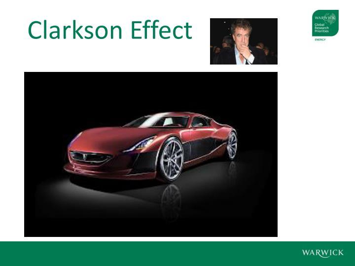 Clarkson Effect