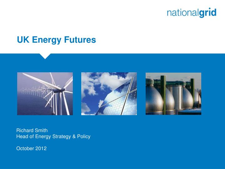 UK Energy Futures