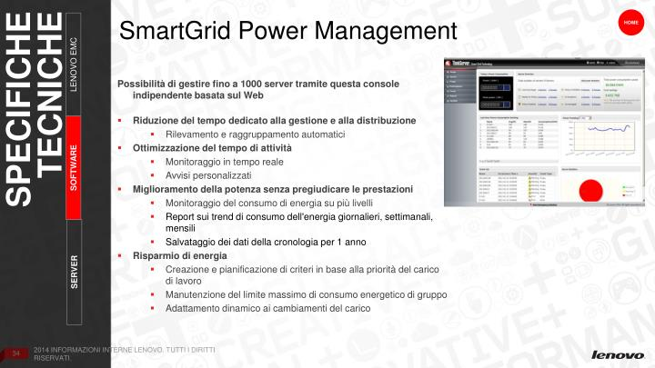 SmartGrid Power Management