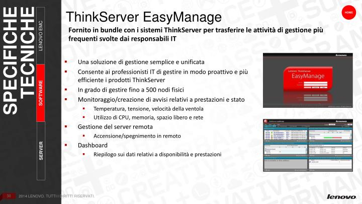 ThinkServer EasyManage