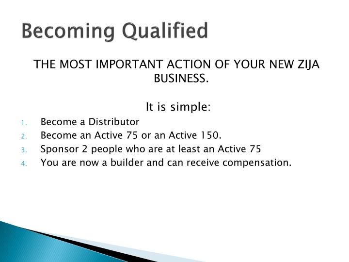 Becoming Qualified
