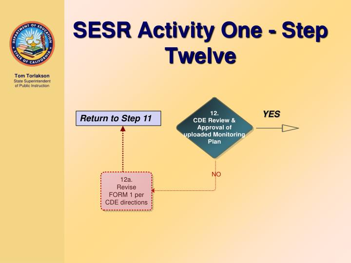 SESR Activity One - Step Twelve