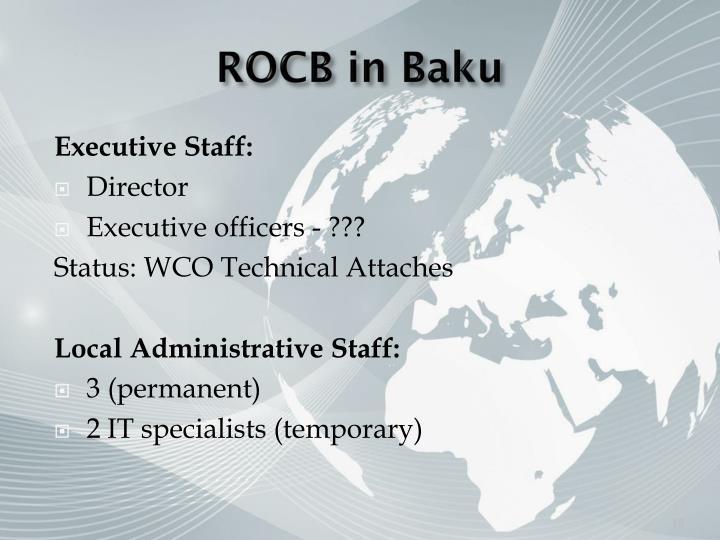 ROCB in Baku