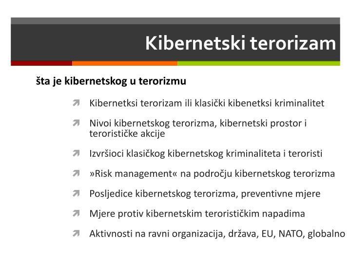 Kibernetski terorizam