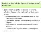 brief case for sale by owner your company s name com