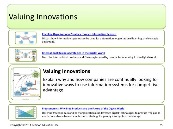 Valuing Innovations