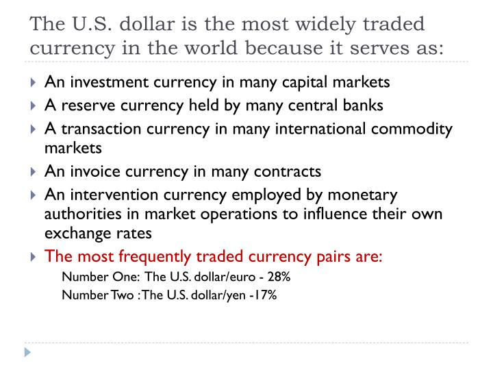 Most exchange traded currency options mature