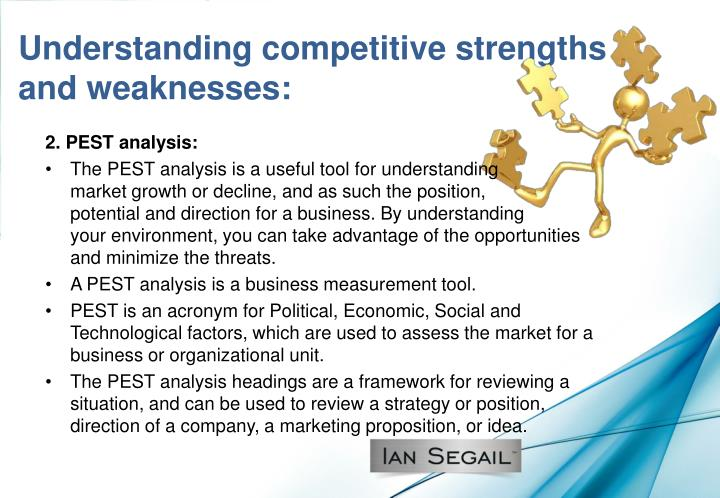 Understanding competitive strengths