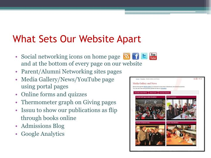 What Sets Our Website Apart