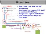 driver linac