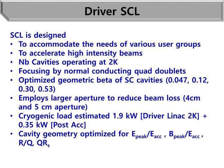 Driver SCL