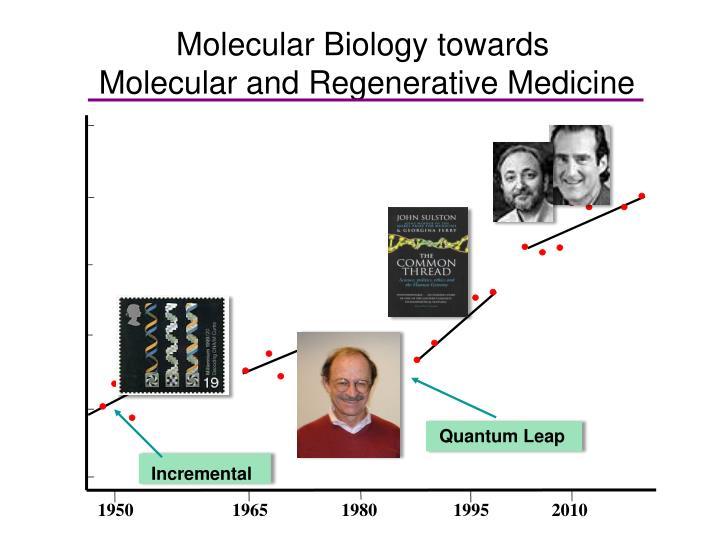 Molecular Biology towards