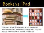 books vs ipad