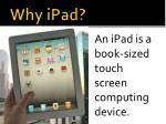 why ipad1