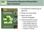 conservation measures partnership s open standards