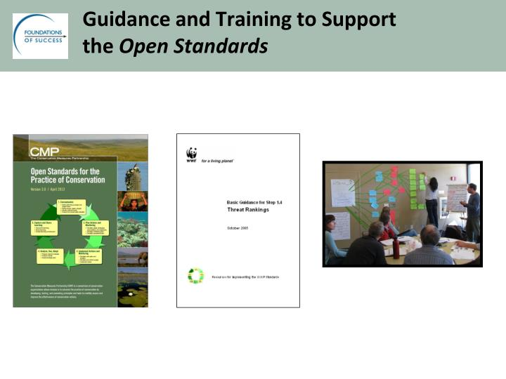 Guidance and Training to Support