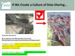 if we create a culture of data sharing