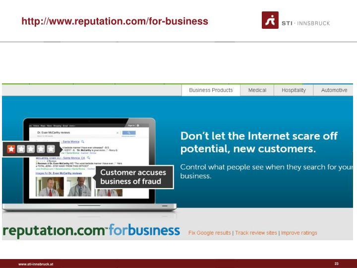 http://www.reputation.com/for-business