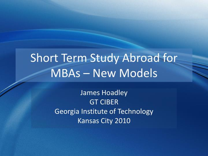 mba dissertation models