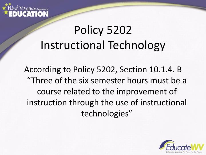 Policy 5202