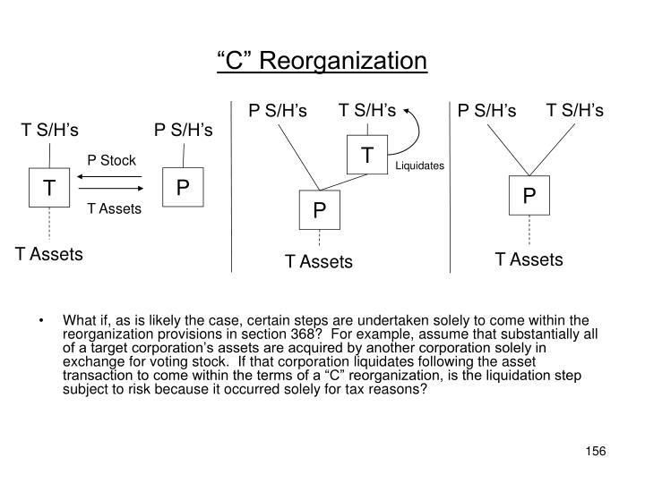 """C"" Reorganization"