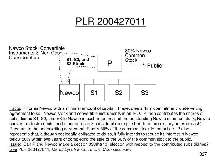 PLR 200427011