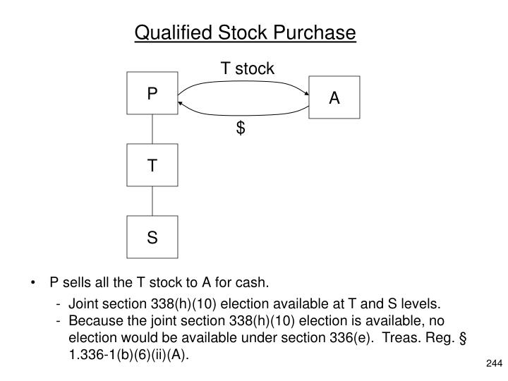 Qualified Stock Purchase