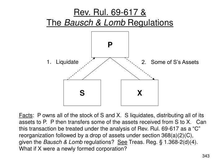 Rev. Rul. 69-617 &