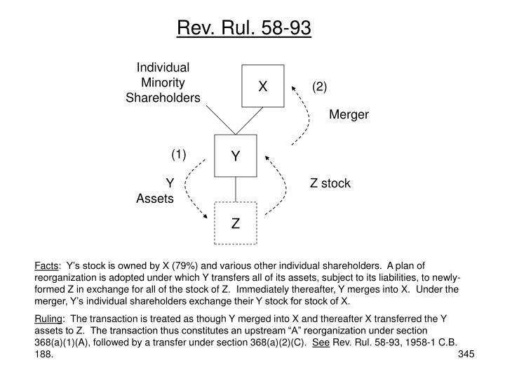Rev. Rul. 58-93