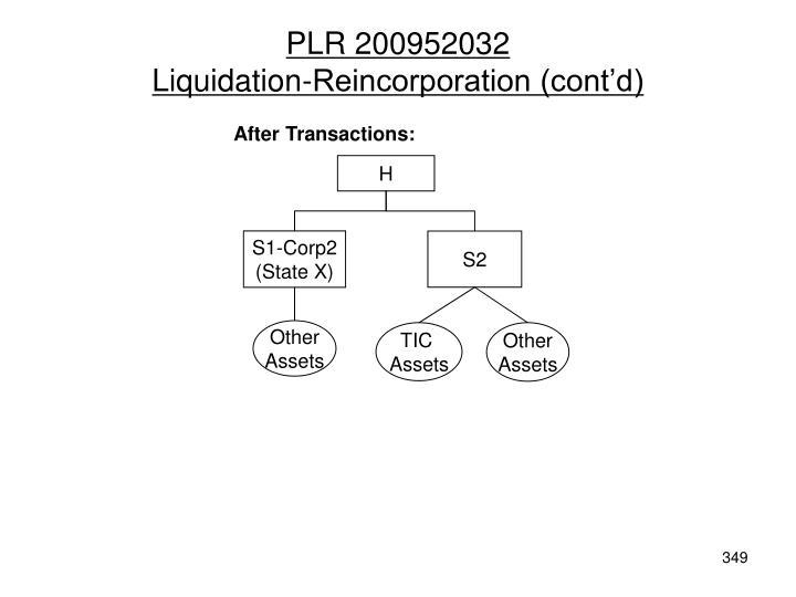 PLR 200952032