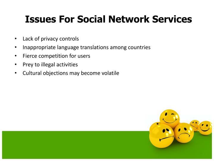 Lack of privacy controls