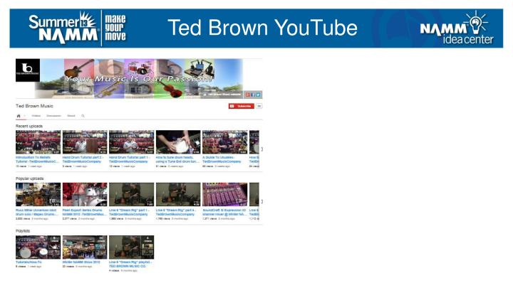 Ted Brown YouTube